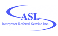 ASL Interpreter Referral Service logo