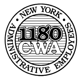 1180 CWA New York Administrative Employees logo