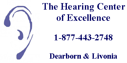 The Hearing Center of Excellence logo
