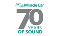 Miracle Ear - 70 years of Sound logo